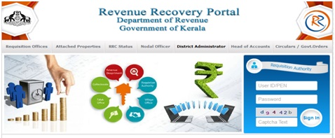 RR Online - Online Revenue Recovery Services, Department of